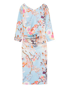YOUNG COUTURE BY BARBARA SCHWARZER Spring Flower Bleu Multi