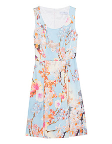 YOUNG COUTURE BY BARBARA SCHWARZER Spring Flower Skate Bleu Multi