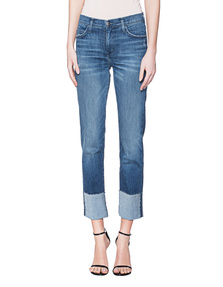 CURRENT/ELLIOTT The Camdyen High Waist Straight Blue