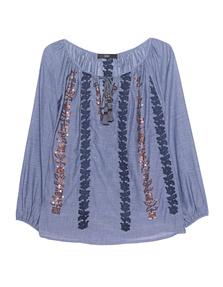 STEFFEN SCHRAUT Embroidery Tunic Indigo