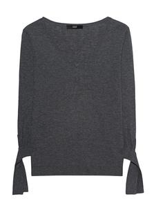 STEFFEN SCHRAUT Sleeve Bow Medium Grey