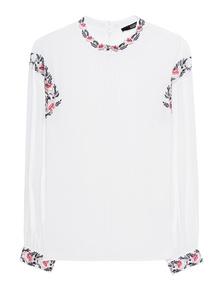 STEFFEN SCHRAUT Embroidery White