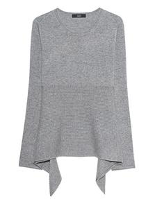 STEFFEN SCHRAUT Stripe Knit Light Grey