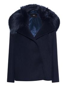 STEFFEN SCHRAUT Fake Fur Saphire Blue