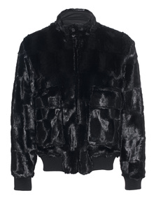 STEFFEN SCHRAUT Bomber Fake Fur Black