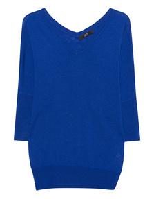 STEFFEN SCHRAUT V Fine Knit Royal Blue