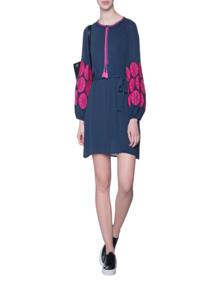 STEFFEN SCHRAUT Pink Embroidery Cord Blue
