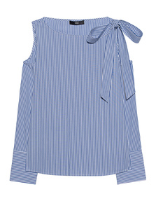 STEFFEN SCHRAUT Cold-Shoulder Stripes Blue