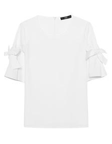 STEFFEN SCHRAUT Bows Sleeves White