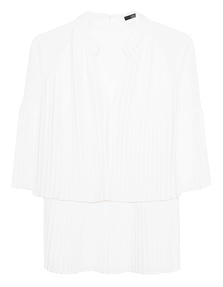 STEFFEN SCHRAUT Pleated Design Off White