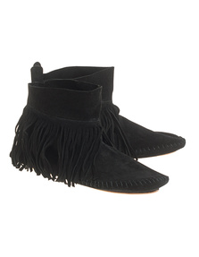 One Teaspoon Maverick Moccasins Black