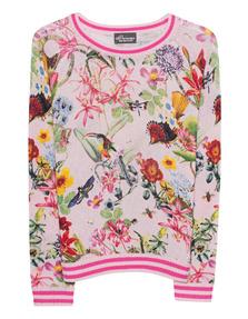 PRINCESS GOES HOLLYWOOD Flower Animal Print Multicolor