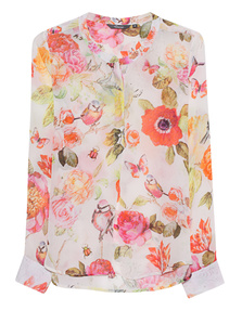 PRINCESS GOES HOLLYWOOD Rose Birds Multicolor