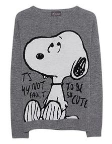 PRINCESS GOES HOLLYWOOD Snoopy Shark Skin Grey