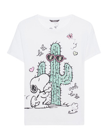 PRINCESS GOES HOLLYWOOD Snoopy Cactus White