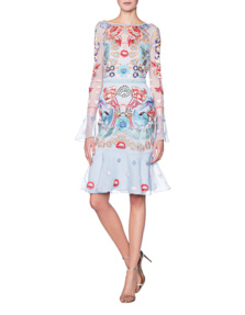 TEMPERLEY LONDON Porcelain Fitted Blue