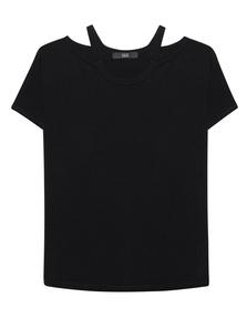 STEFFEN SCHRAUT Fine Knit Cut Out Black