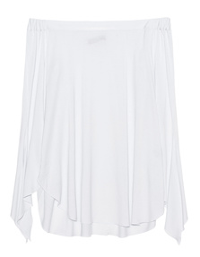 STEFFEN SCHRAUT Off Shoulder White
