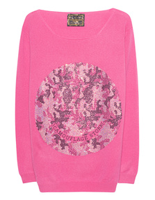CAMOUFLAGE COUTURE STORK Smiley Pink