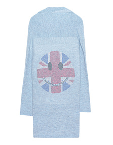 CAMOUFLAGE COUTURE STORK Smiley Union Jack Blue