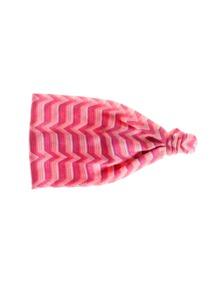 Missoni Mare Fascia Stripe Pink
