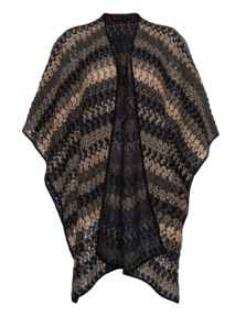 MISSONI Open Crochet Boho Beige