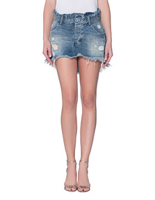 One Teaspoon Le Cult Skirt Blue Boy