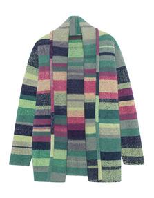 The Elder Statesman Stripes Cashmere Multicolor