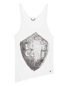 One Teaspoon Love Club White