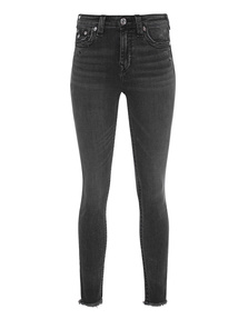 TRUE RELIGION Halle High Rise Grey
