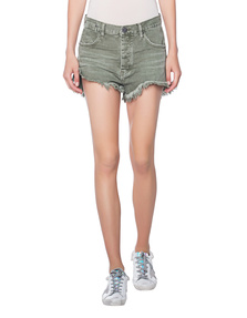 One Teaspoon Le Wolves Mid Length Khaki