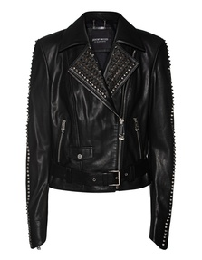 JEREMY MEEKS Leather Zip Black