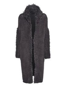 AVANT TOI Wool Blend Loop Long Anthra