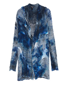 AVANT TOI Net Dyed Blue