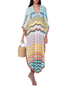 MISSONI MARE Maxi V Neck Multicolor