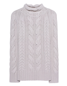THE MERCER N.Y. Cable Knit Kitt Melange
