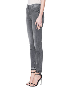 J BRAND Alana High Rise Crop Skinny Grey