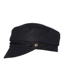 EUGENIA KIM Elyse Braid Buttons Black