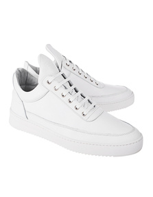 Filling Pieces Low Top Ripple Basic Nappa All White