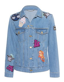 KENZO Patches Denim Light Blue