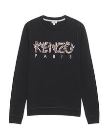 KENZO Embroidered Cactus Black