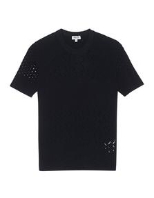 KENZO Hole Knit Fine Black