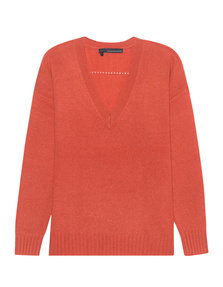 360 SWEATER Sydney Burnt Orange