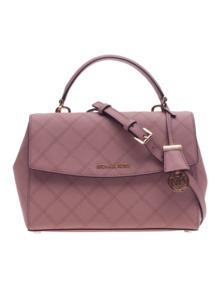 MICHAEL KORS  Ava Medium Saffiano Leather Rosé