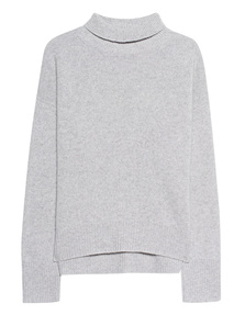 360 SWEATER Olive Lightgrey