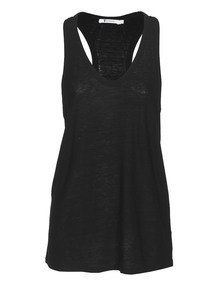 T BY ALEXANDER WANG Slub Tank Black