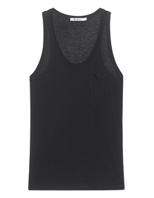 T BY ALEXANDER WANG Classic Cropped Tanktop