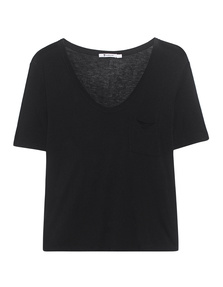 T BY ALEXANDER WANG Classic Cropped Black