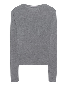 T BY ALEXANDER WANG Classic Long Heather Grey