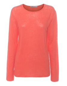 T BY ALEXANDER WANG LS Oversize Orange